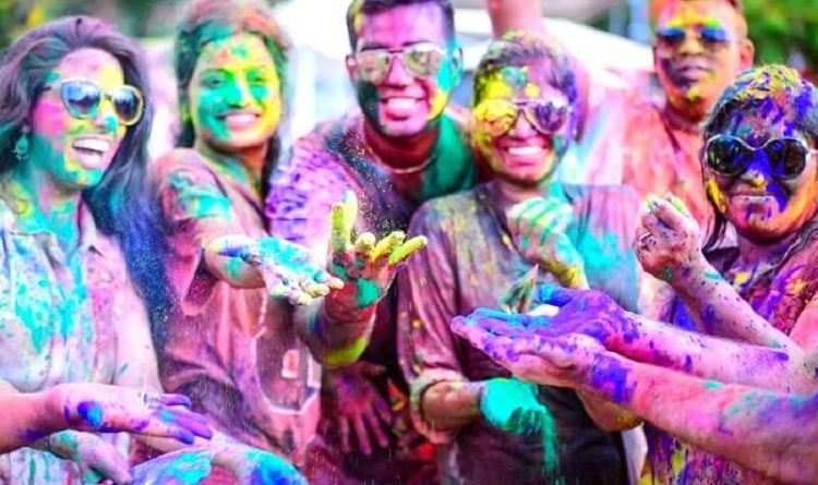 Holi Celebration Parties